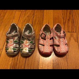 Naturino Shoes - Bundle of 2 new pairs of naturino sandals. Size 20